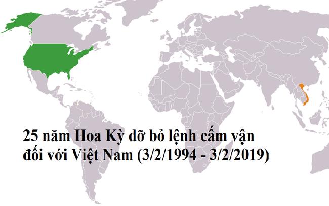 25 năm dỡ bỏ lệnh cấm vận, quan hệ Việt – Mỹ giờ ra sao?
