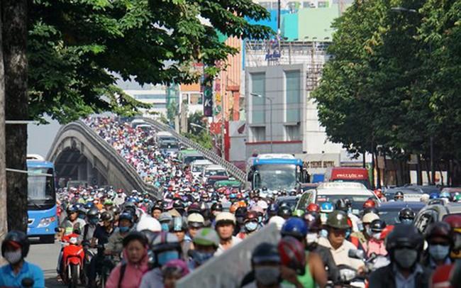 Cấm xe máy vào trung tâm TP.HCM năm 2030: Đã lường trước sự không đồng thuận?