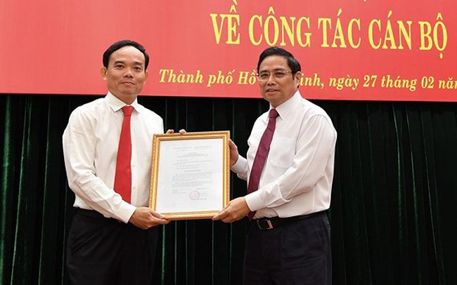 Ông Trần Lưu Quang bổ nhiệm làm Phó Bí thư Thường trực TPHCM
