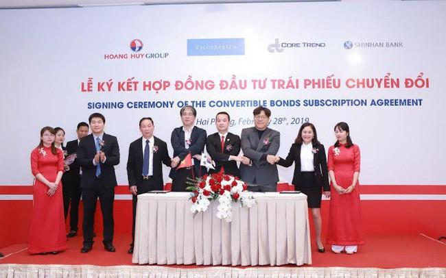 Shinhan Bank, CoreTrend (Hàn Quốc) rót 1.200 tỷ vào Tài chính Hoàng Huy (TCH)