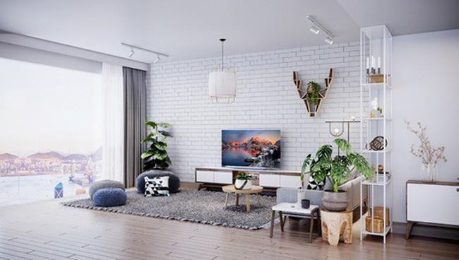 3 phong cách phòng khách sang trọng nhờ TV siêu mỏng