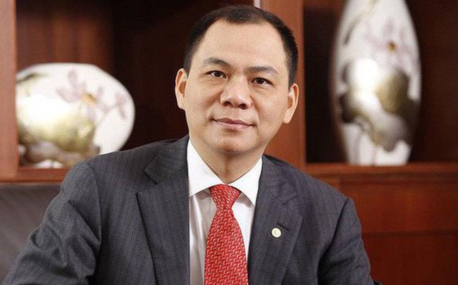 Tỷ phú Phạm Nhật Vượng thôi giữ vị trí Chủ tịch Hội đồng quản trị VinHomes