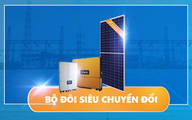 """Tại sao nhiều dự án điện mặt trời lựa chọn """"Bộ đôi siêu chuyển đổi"""" của DAT Solar?"""