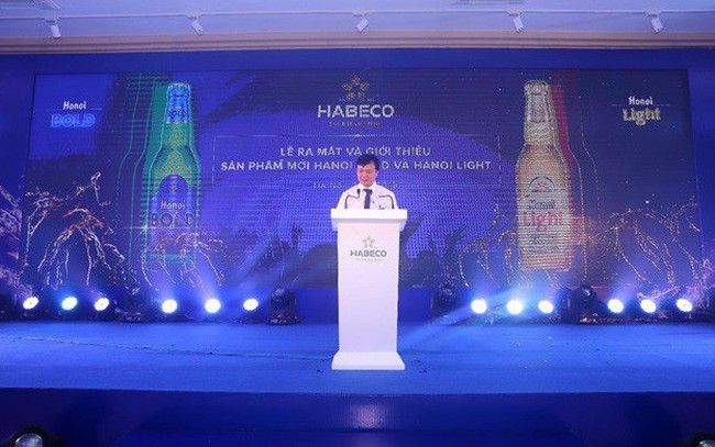 HABECO cho ra mắt cặp sản phẩm bia đẳng cấp Hanoi Bold và Hanoi Light