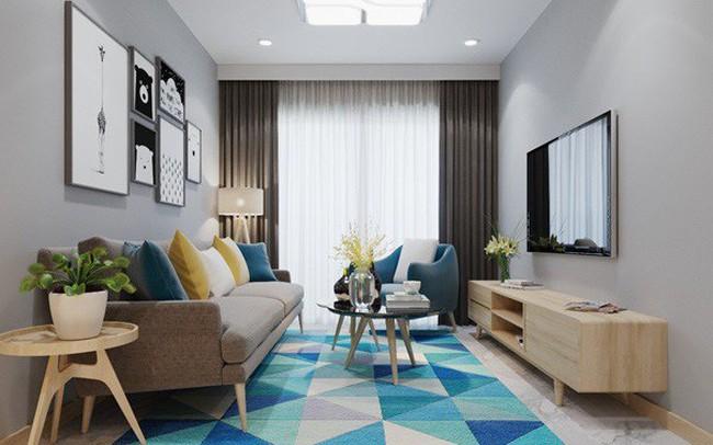 Căn hộ 3 phòng ngủ thiết kế đẹp mắt của doanh nhân Sài Gòn