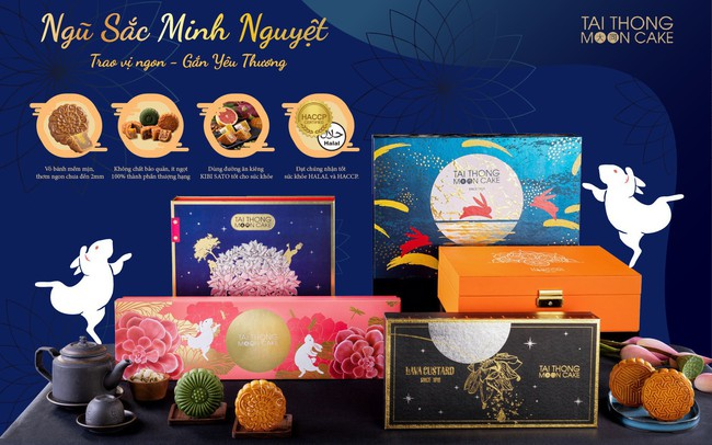 Tai Thong Moon Cake ra mắt bộ sưu tập bánh trung thu Sang Trọng
