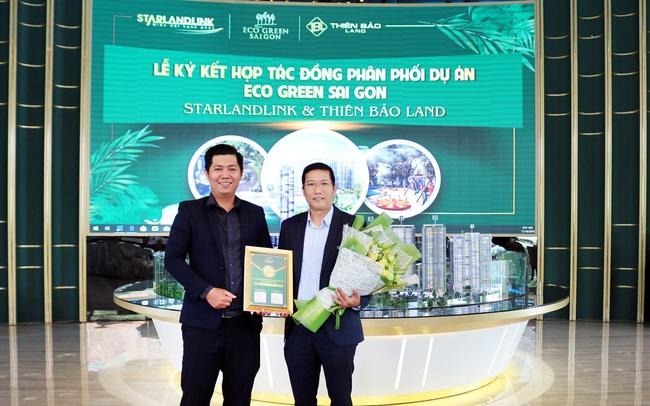 Thiên Bảo Land và Starlandlink liên minh đón tòa tháp mới Eco Green HR3 đẹp nhất dự án