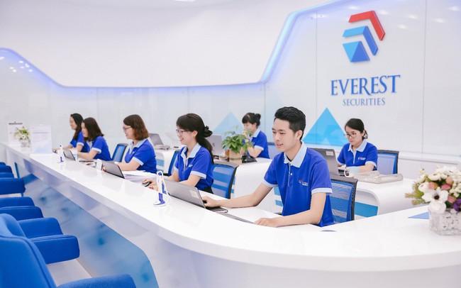 Chứng khoán Everest tuyển dụng 30 nhân viên môi giới và nhiều vị trí hấp dẫn khác