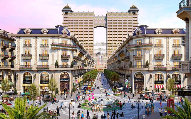 Lộ diện phố thương mại phong cách châu Âu tại khu Đông, TP Hồ Chí Minh