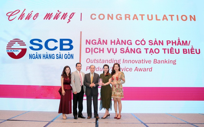 """SCB lần thứ 3 liên tiếp nhận giải thưởng """"Ngân hàng có sản phẩm dịch vụ sáng tạo tiêu biểu"""" của IDG"""