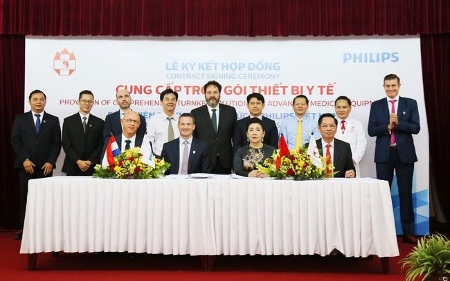 Philips Việt Nam ký kết thỏa thuận hợp tác với bệnh viện đa khoa Hồng Đức