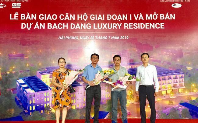 G5 Invest bàn giao nhà đúng hẹn tại dự án Bach Dang Luxury Residence