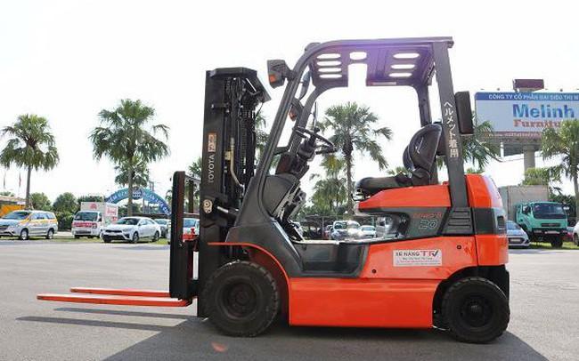 Thuê xe nâng cũ nhập khẩu chính ngạch từ TFV Industries