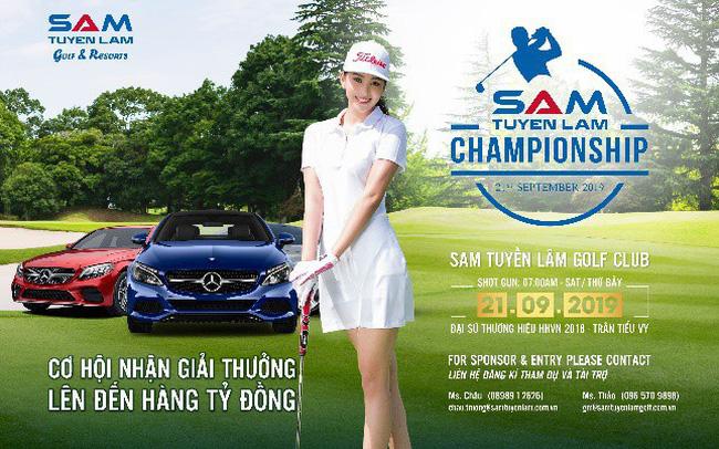 Giải golf SAM Tuyền Lâm Championship 2019 chính thức khởi tranh tại Đà Lạt vào ngày 21 tháng 09