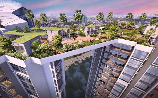 Sky Bridge: điểm ngắm hoàng hôn thơ mộng đông Sài Gòn trong tương lai
