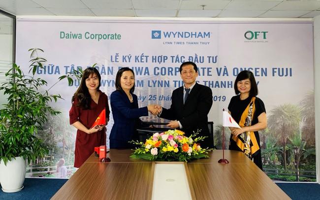 Tập đoàn Daiwa Corporate đăng ký nhận chuyển nhượng 500 căn hộ khách sạn khoáng nóng Thanh Thủy