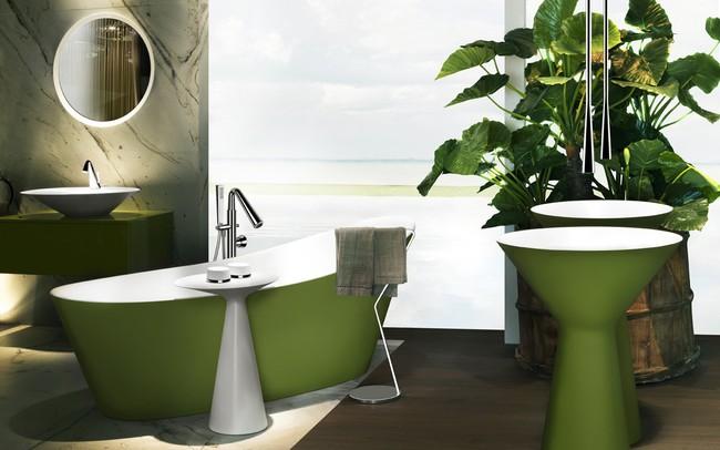5 xu hướng không gian phòng tắm ấn tượng