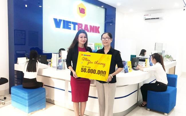 Vẫn còn hàng nghìn cơ hội nhận quà tặng ngay từ Vietbank