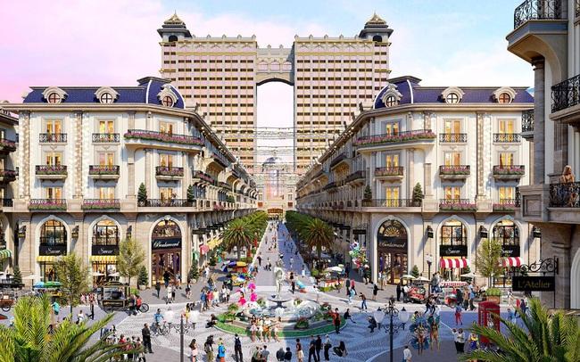 Khám phá khu mua sắm của phố đi bộ thương mại Royal Vạn Phúc