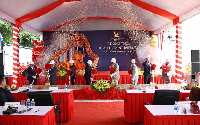 Tân Hoàng Minh động thổ toà cao ốc văn phòng tại đường Nguyễn Thị Minh Khai