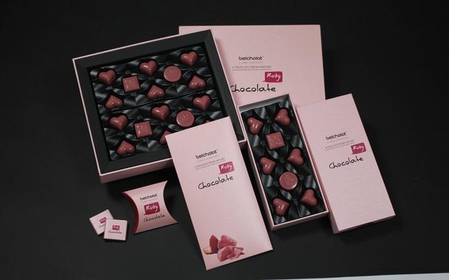 Loại Sô cô la hảo hạng thứ 4 trên thế giới: Sô cô la Ruby