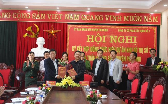 Vinaconex triển khai dự án nhà ở liền kề tại huyện Phú Bình, tỉnh Thái Nguyên