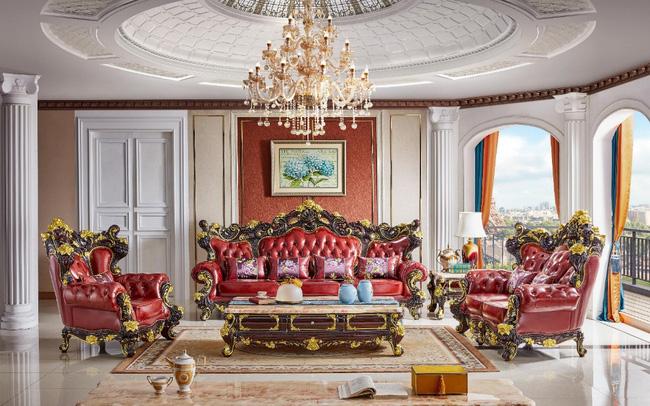 Ra mắt bộ sofa dát vàng kích thước khủng chưa từng có