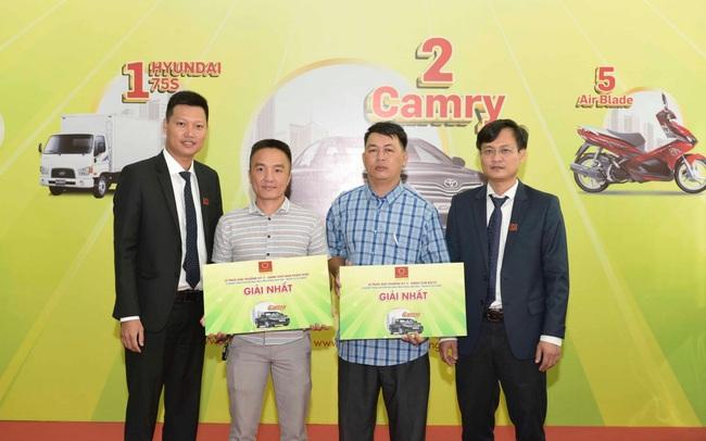 Tập đoàn Hoa Sen trao xe Camry đợt 2 cho các nhà phân phối, đại lý