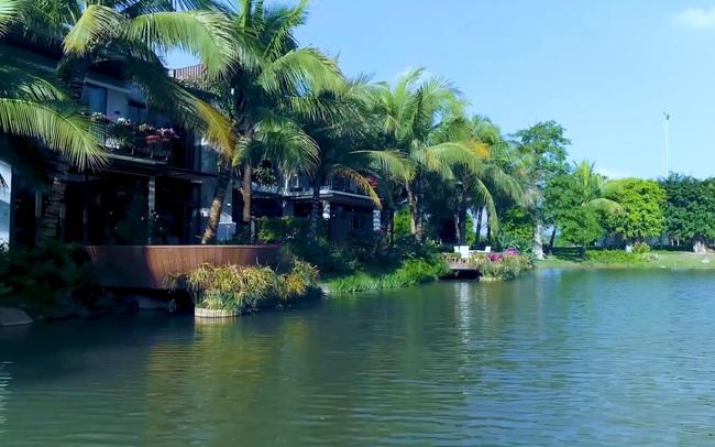 Không gian mặt nước đẳng cấp của biệt thự đảo Ecopark Grand - The Island