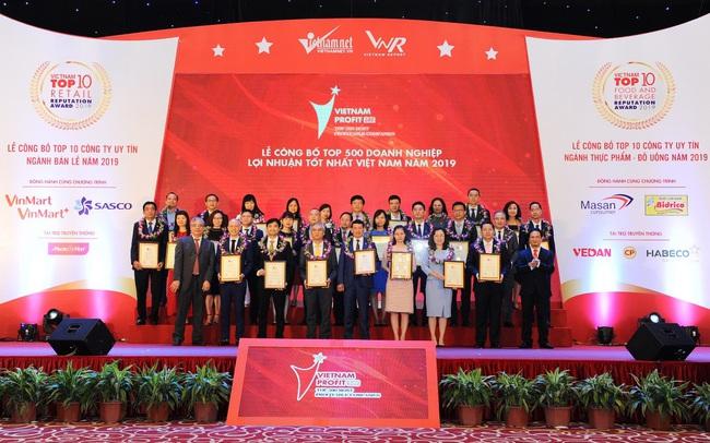 PV GAS được vinh danh trong Top 500 Doanh nghiệp lợi nhuận tốt nhất Việt Nam năm 2019