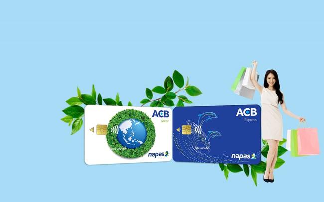 ACB triển khai toàn hệ thống thẻ chip nội địa mang thông điệp bảo vệ môi trường