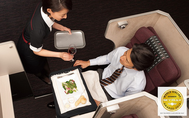 Đột nhập khoang hạng thương gia Japan Airlines - tận hưởng dịch vụ bay đẳng cấp với hãng hàng không thế giới 5*