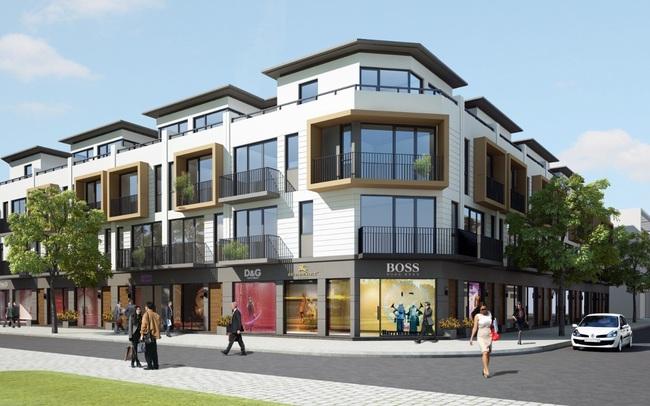 Lợi thế đắt giá của shophouse mặt đường 34m tại dự án Phố Nối House