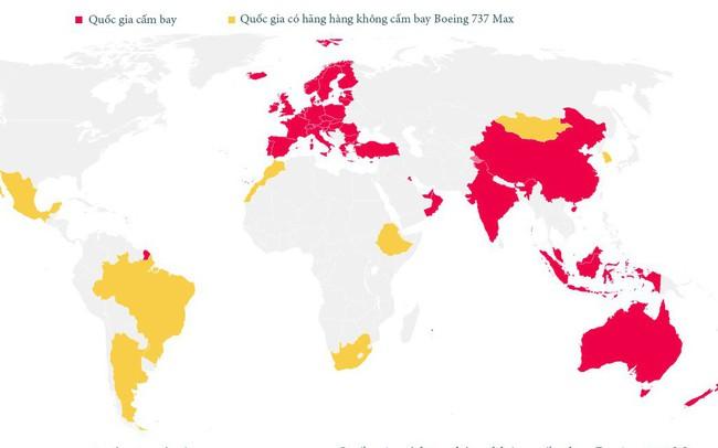 Chỉ bằng một tấm bản đồ, bạn sẽ thấy thảm họa với Boeing tồi tệ đến mức độ nào