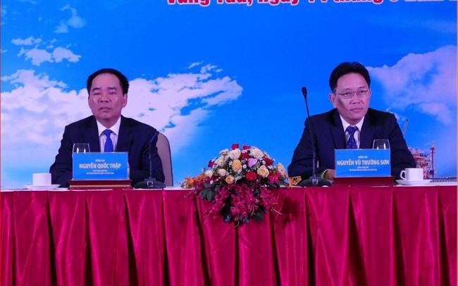 Sáng nay, Tổng giám đốc Nguyễn Vũ Trường Sơn vẫn ngồi ghế chủ trì hội nghị của PVN