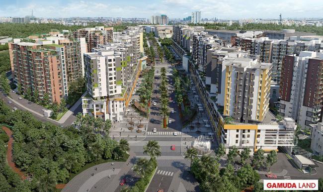 Đại lộ Gamuda - Dấu ấn Singapore tại Tây Sài Gòn
