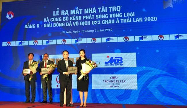 MB tài trợ các trận đấu thuộc bảng K – vòng loại giải bóng đá vô địch U23 Châu Á 2020