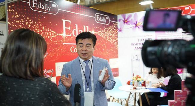 Thương hiệu mỹ phẩm Edally khẳng định vị thế tại triển lãm Inter Beauty Viet Nam 2019