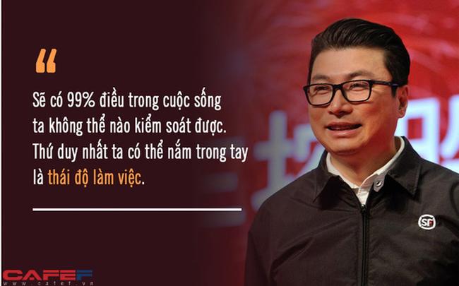 """Từ tay shipper quèn đến """"ông hoàng chuyển phát nhanh"""" khiến Jack Ma cũng phải nể, tỷ phú Vương Vệ tiết lộ nguyên tắc hàng đầu: Có nhiều tiền mà thiếu 3 chữ này, sao dám nhận là nhà lãnh đạo tài ba?"""