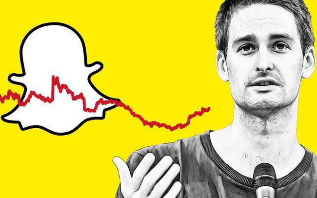 Từng là start-up đình đám được định giá 24 tỷ USD khiến Facebook phải chạy theo 'bắt chước', công ty của tỷ phú trẻ Evan Spiegel chỉ còn vỏn vẹn hơn 3 năm để chống chọi trước nguy cơ sụp đổ