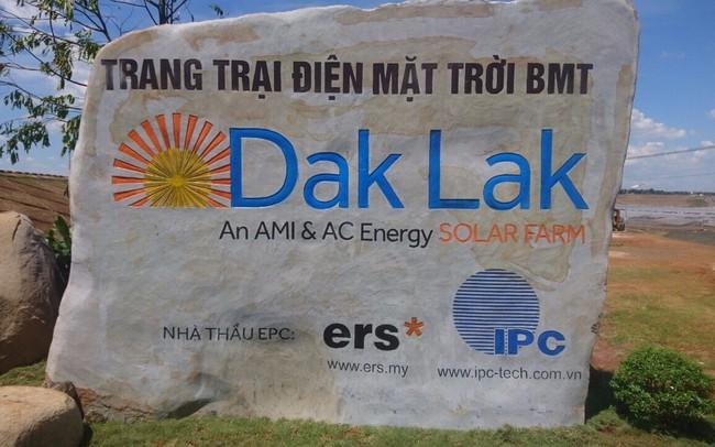 AMI và AC Energy đưa trang trại điện mặt trời BMT Đắk Lắk hoà lưới, bắt đầu vận hành thương mại