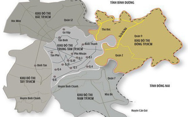 TPHCM chi tiền tỉ cho ý tưởng quy hoạch khu đô thị sáng tạo