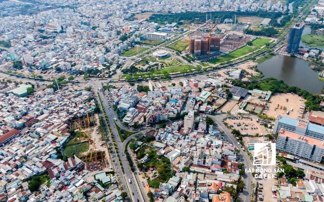 Những dự án giao thông nghìn tỷ đang nhanh chóng làm thay đổi cả thị trường nhà ở khu vực này của TPHCM