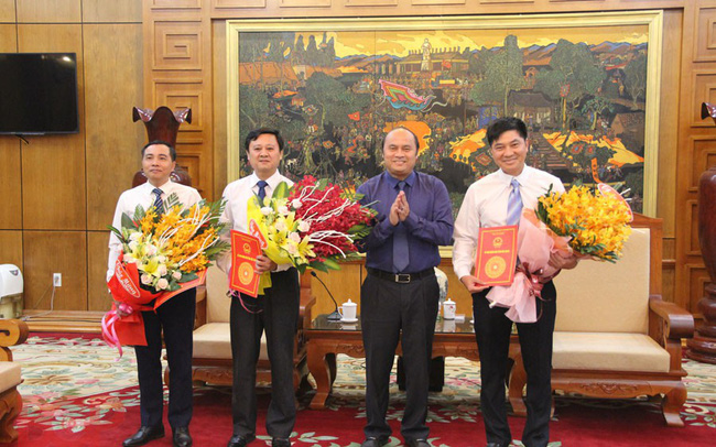 Bắc Giang bổ nhiệm Phó Giám đốc 3 Sở