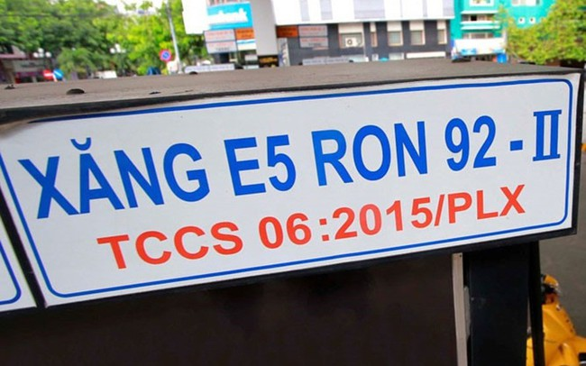 Bộ Công Thương đề nghị sửa thuế môi trường với xăng E5, khuyến khích người tiêu dùng sử dụng