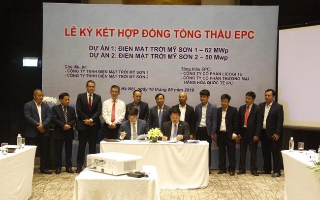 Tập đoàn IPC liên danh với Licogi 16 làm tổng thầu EPC cho 2 dự án điện mặt trời 2.300 tỷ