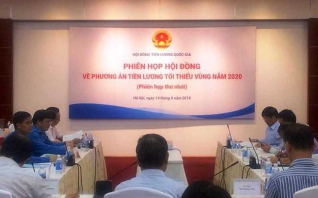 Lương tối thiểu vùng 2020: Các bên đưa ra những mức tăng khác nhau
