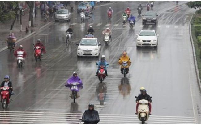 Bắc Bộ mưa dông diện rộng