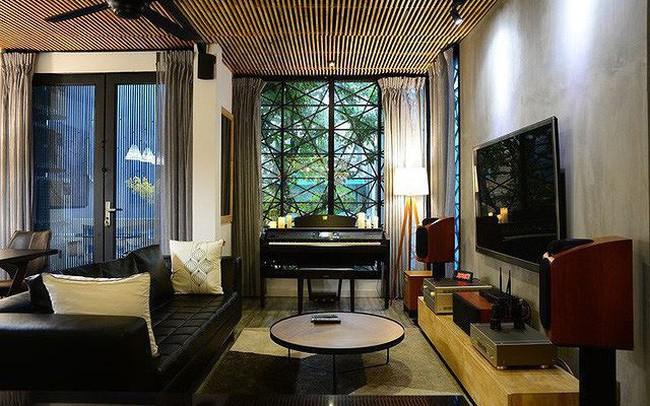 Nhà 1 trệt, 3 lầu thiết kế sang trọng và thoáng mát với chi phí 1,5 tỷ