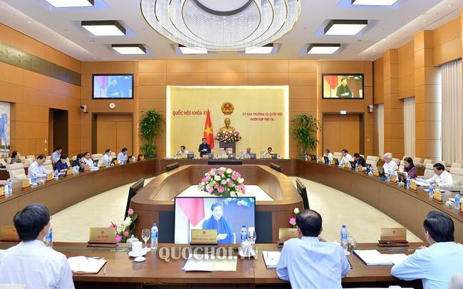 UBTVQH xem xét, phê chuẩn bổ nhiệm nhân sự; thành lập đơn vị hành chính mới